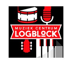 Muziekcentrum Logblock Logo